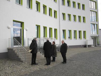 Grüne Abgeordnete besuchten mittelfränkische Flüchtlingsunterkünfte