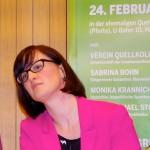 Britta Walthelm, Mitglied im Landesvorstand der Grünen Bayern