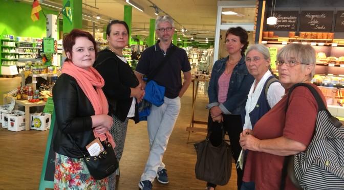 Grüne Abgeordnete besuchen die Ökomodellregion Nürnberg-Roth
