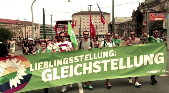 Christopher Street Day In Nürnberg