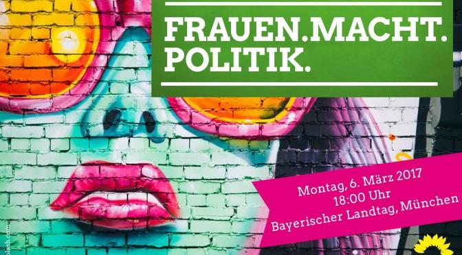 """""""Frauen – Macht – Politik"""", 6. März 2017"""