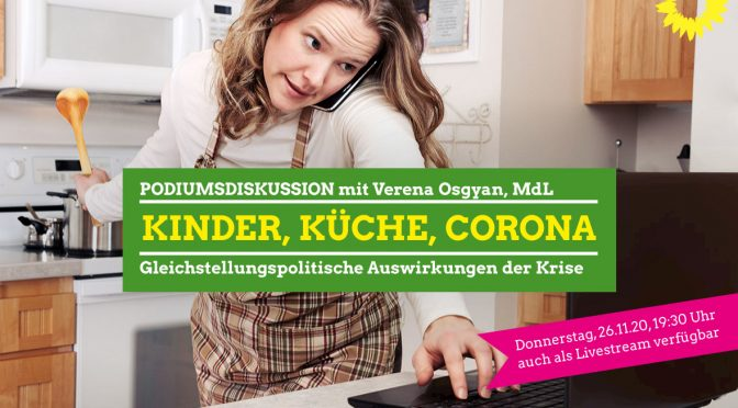 Kinder, Küche, Corona