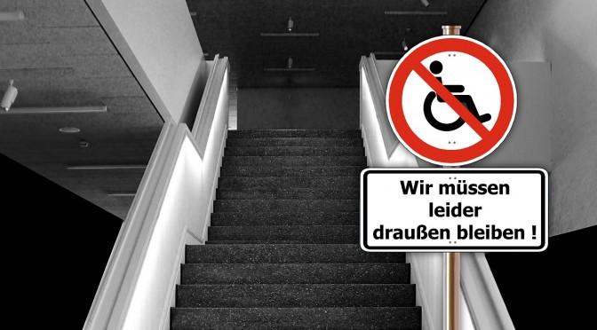 Barrierefreiheit an Hochschulen:  Umbau geht nur langsam voran