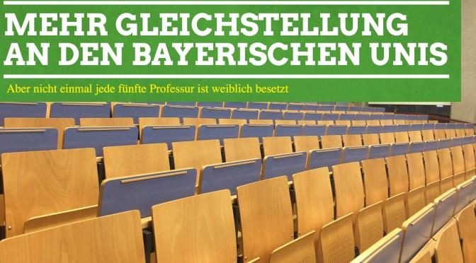 Grünes Antragspaket: Gleichstellung an Hochschulen