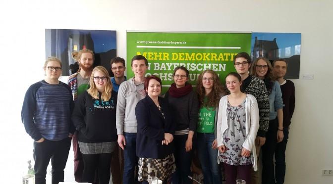 Mehr Demokratie an Bayerns Hochschulen!