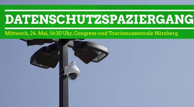 Datenschutzspaziergang Nürnberg