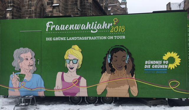 """Weltfrauentag 2018: """"Die Hälfte der Macht den Frauen!"""""""