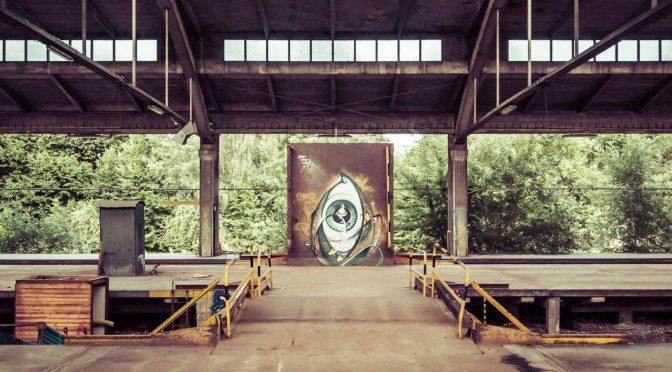 Grüne Wege: Umladehallen am ehemaligen Südbahnhof in Nürnberg
