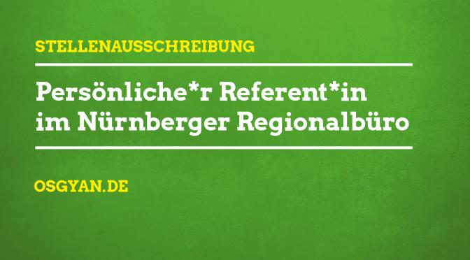 Stellenausschreibung Nürnberg