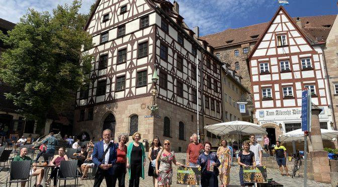 """""""DenkMal grün""""in Nürnberg"""