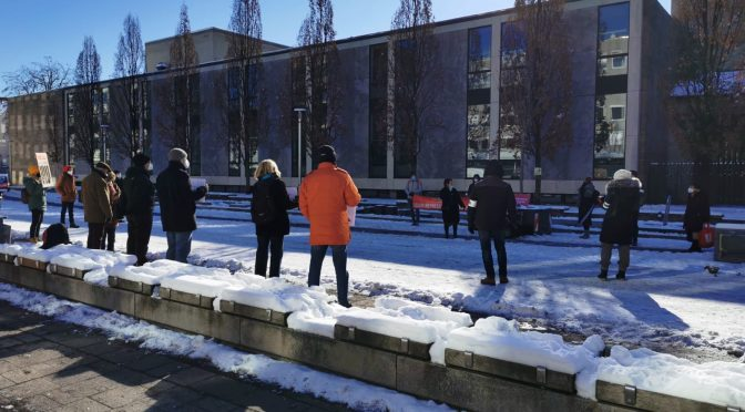 #FreeNawalny-Demo: Gegen Repression in Russland