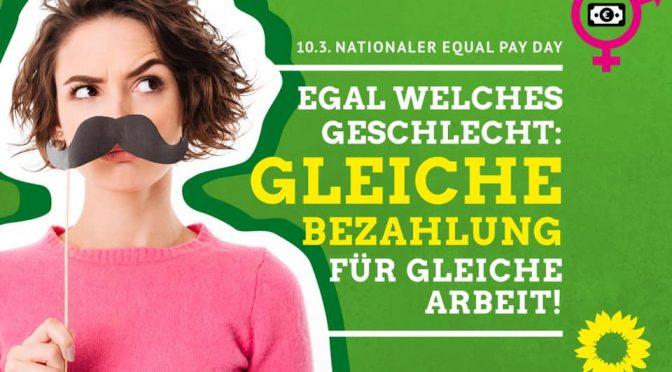"""Equal Pay Day:  Mehr als """"gleiche Arbeit – gleicher Lohn"""""""