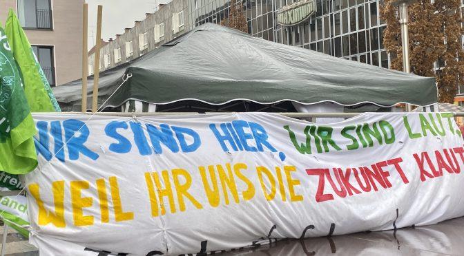 Ein Jahr FridaysForFuture Nürnberg: Gemeinsam für eine sozialgerechte, klimaneutrale Zukunft kämpfen