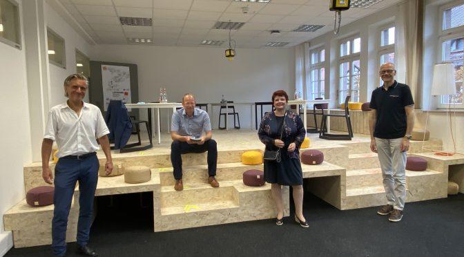 Spannender Einblick ins LEONARDO – Zentrum für  Kreativität und Innovation