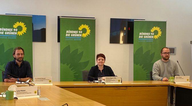 Grüne Landtagsfraktion stellt Hochschulfreiheitsgesetz vor